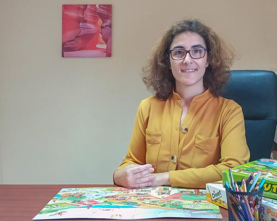Terapeuta da Fala Andreia Tavares